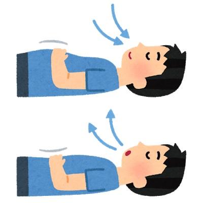 寝ながらゆっくり鼻呼吸