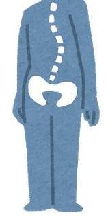 背骨と骨盤が歪んでる人