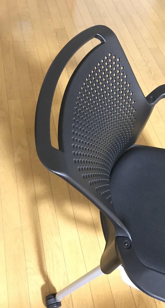 椅子の背もたれ